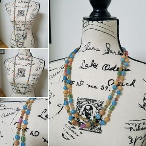 Jewelry - Vintage Beaded Strand Necklace